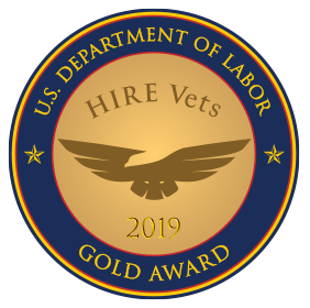HIREVets.gov HIRE Vets Medallion Program - Recognizing employers who HIRE veterans - version 1